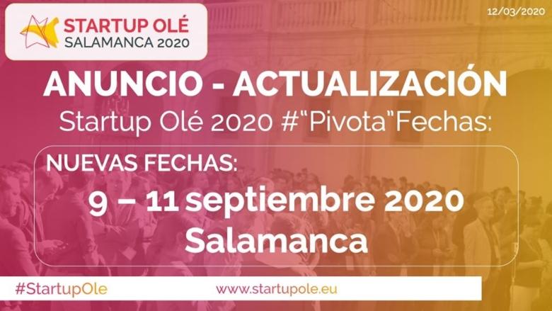 startup-ole-2020-se-traslada-del-9-al-11-de-septiembre-a-causa-del-coronavirus